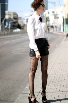 Shorts and stockings