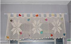 cortinas de croche - Pesquisa Google