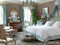 Miles Redd bedroom design image | Danielle Rollins Atlanta House - Miles Redd ... | Beautiful bedrooms!
