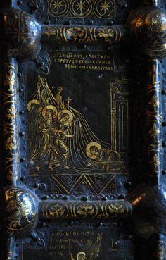 773х1210) Златые врата Рождественского собора в Суздале, XII - первая треть XIII вв. - Орнамент и стиль в ДПИ