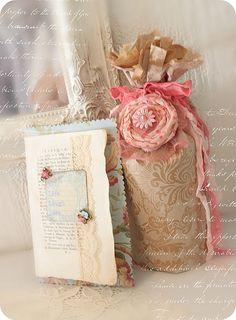 Hand Made Card  & Bottle Craft * Schlaflos in NRW *