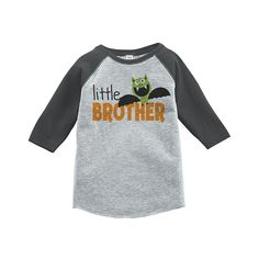 Custom Party Shop Youth Little Brother Halloween Shirt