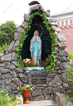 religious statue grotto - Google Search