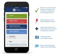 FEMA app - FEMA has released a new app that covers a variety of activities. Pandemics are missing from disaster list and the post-space weather actions focus solely on refrigerators for some reason. Available for most mobile devices.