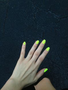 Love neon nails