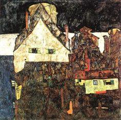 Egon Schiele: Dead Town VI, 1912
