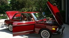 M Power!  1972 BMW 2002 tii