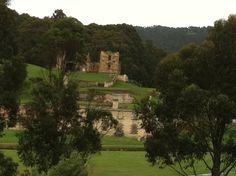 Sight-seeing at Port Arthur on our conference day off.
