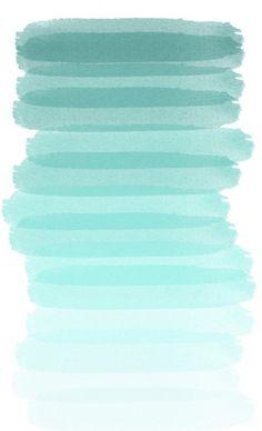 shades of aqua, color inspiration