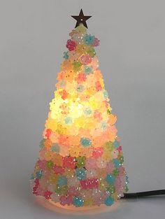 sugar candy tree lighting