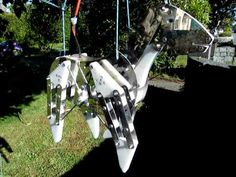 ▶ Kinetic Horse made from Stainless steel and acetal - YouTube