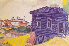 Marc Chagall – The Blue House