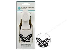 Martha Stewart Double Punch Monarch Butterfly Large -- CreateForLess