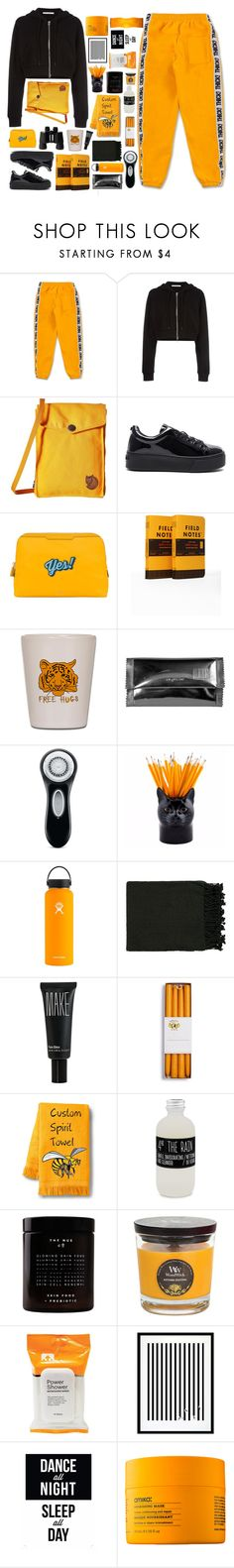 """123 • it's ok to fall, it's ok to get hurt •"" by hellxwaffles ❤ liked on Polyvore featuring Givenchy, Fjällräven, Kenzo, Anya Hindmarch, Maison Margiela, Clarisonic, Hydro Flask, Surya, Make and Belmondo"