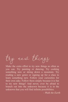 Try new things, stay curious, explore! Inspirational quotes & poetry - Try new things, stay curious, explore! Self Love Quotes, Cute Quotes, Words Quotes, Quotes To Live By, Poetry Quotes, Sayings, The Words, Positive Quotes, Motivational Quotes