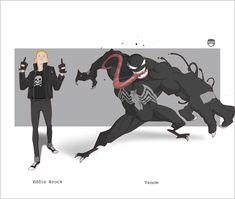 VENOM - Eddie Brock By Kizer