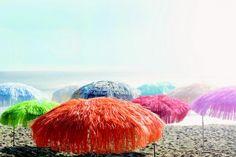 Jan Kurtz Hawaii - Sonnenschirm mit Fransen natur online kaufen | IchLiebeDesign.de