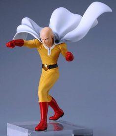 Japan Anime Saitama Tsume Xtra One Punch Man Figure Statue Battle 24.5cm NoBox