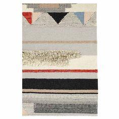 Teppich Wolle bunt von Nordal