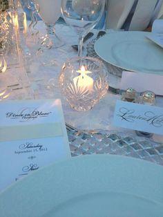 simply elegant table from Diner en Blanc Cincinnati, 2012