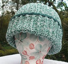 Hat pattern Brioche Knitting