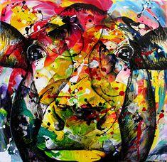 Dutch visual artist Anita Ammerlaan  www.anitaammerlaan.com kleurrijk koe schilderijen vrolijk koeien cow cows kleurrijke vrolijke anita koeienkop koeienschilderij  koeienportret koeienschilderijen koeienportret koeienportretten koeienkunst koeienkunstenaar verjaardagskalender vrolijk kunst kunstenaar koeienschilder dierenschilderij cowpainting painting paintings cowart koeien