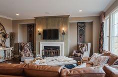 Morning Hearth Room - furniture arrangement