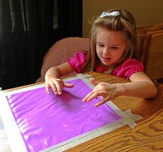 finger painting without the mess