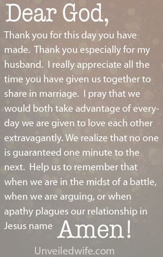 Prayer Of The Day – Taking Advantage To Love Everyday by @unveiledwife
