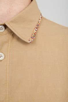 Folk shirt collar detail  http://www.folkclothing.com/tip-shirt-light-sand