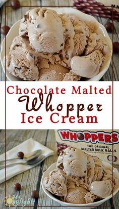 Chocolate Malted Whopper Ice Cream - terrible terrible. Not enough sugar. Tasted like sugarless ice cream. Blah