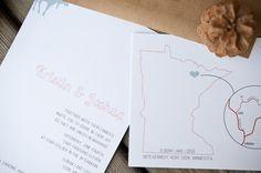 Rustic Wedding Invitations #wedding #invitation #moose #minnesota