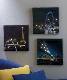 1000 images about led wall art on pinterest led. Black Bedroom Furniture Sets. Home Design Ideas