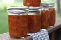 Spiced Peach Jam | Brittany's Pantry - This is even better than it sounds.  And smeared on a biscuit?  Forgetaboutit.