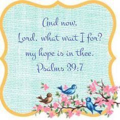 Psalms 39:7