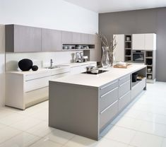 Moderne keuken | Bruin | Greeploze keuken | Manhattan Select Gamma | Krëfel Keukens