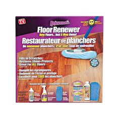 Rejuvenate As Seen on TV Floor Renewer Kit Floor Care, Window Cleaner, Cleaning Kit, Cabinet Furniture, See On Tv, Stone Tiles, Laminate Flooring, Starter Kit, Be Yourself Quotes