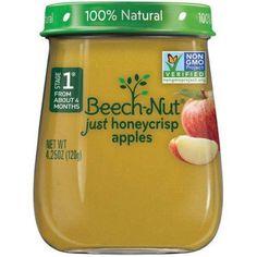 Beech-Nut Naturals Stage 1 Just Honeycrisp Apples, 4.0 OZ