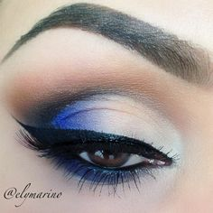 Peek-a-boo Blue created by Elizabeth Marino on Makeup Geek!