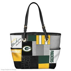 For The Love Of The Game Green Bay Packers Tote Bag