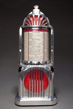 cgmfindings: Seldom seen Art Deco Shyvers Multiphone Jukebox... | Art Deco | Bloglovin