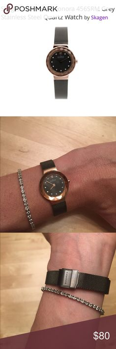 Gorgeous!! Skagen Leonora watch This is a really lovely watch from Denmark. See pics for details. Worn once. I use my Fitbit for the time 😂 Bundle and save 20%! Skagen Accessories Watches