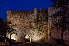 As muralhas em redor de Évora