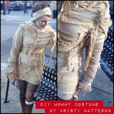 DIY Mummy costume.