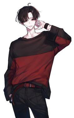 Blurred Lines, (Yuumei) Wenqing Yan – Anime Ideas Cool Anime Guys, Handsome Anime Guys, Hot Anime Boy, Anime Art Girl, Manga Art, Anime Boy Sketch, Anime Boys, Dark Anime, Persona Anime