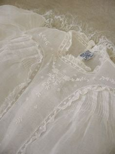 Vintage French Christening gown...beautiful.