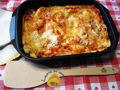 Lasagne velocissime,ricetta primi piatti Ravioli, Couscous, Gnocchi, Ethnic Recipes, Blog, Cooking, Lasagna, Kitchen, Blogging