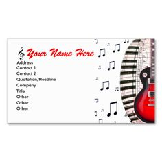 Free blank guitar fretboard diagrams us letter and int a4 paper guitar piano keyboard music notes business card i love this design it is available for customization or ready to buy as is all you need is to add your reheart Image collections
