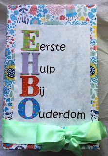 Ik heb de EHBO lijst weer eens van stal gehaald. Dit keer voor een collega die 65 jaar werd. Deze keer met een begeleidende brief in plaats ... Diy Birthday Gifts For Mom, 50th Birthday Presents, Special Birthday, Creative Gifts, Cool Gifts, Abraham And Sarah, Happy B Day, Web Design, Special Gifts