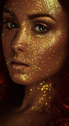 Portrait of beautiful young woman with shining face makeup by FlexDreams on PhotoDune. Portrait of beautiful young woman with shining face makeup Creative Fashion Photography, Fashion Photography Inspiration, Creative Portraits, Glitter Photography, Photography Women, Portrait Photography, Makeup Photography, Glitter No Rosto, Glitter Fotografie
